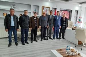 Dikmen Belediye Başkanı Adnan Acar'ı Ziyaret