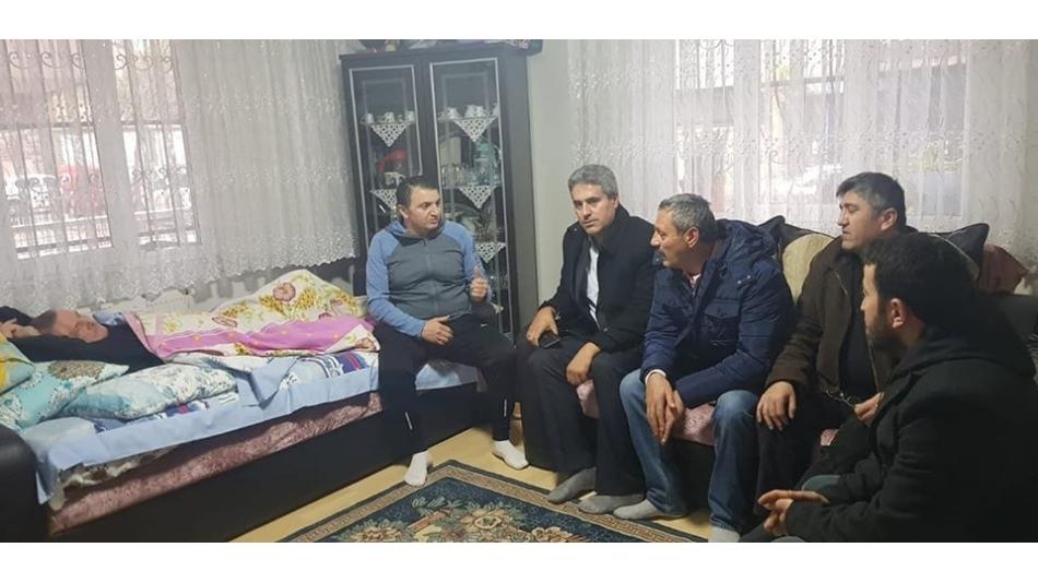Ahmet Külcü Geçmiş Olsun Ziyareti