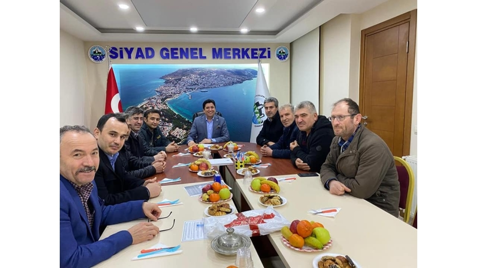 Siyad Genel Başkanı Mehmet Kuru'yu Ziyaret